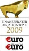 Finanzberater des Jahres 2009 Top 10