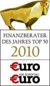 Finanzberater des Jahres 2010 Top 50