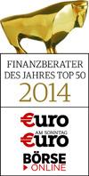 Finanzberater des Jahres 2014 Top 50