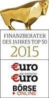 Finanzberater des Jahres 2015 Top 50